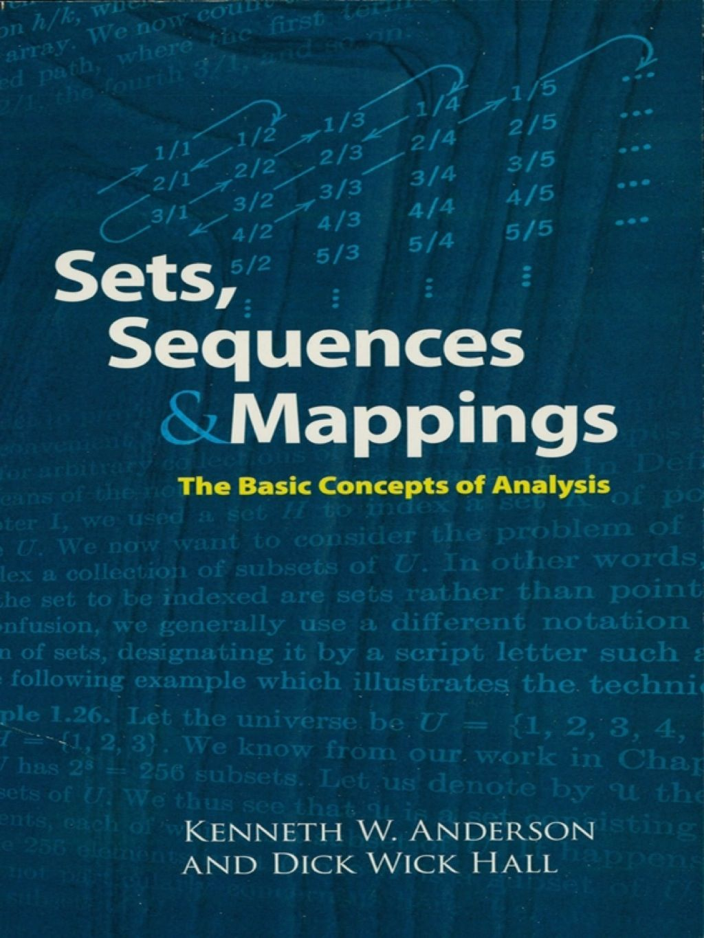 Sets Sequences and Mappings (eBook) | Products | Math books