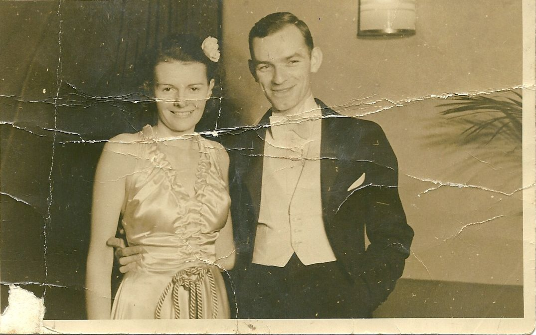 My Grandparents, taken in the 1930's