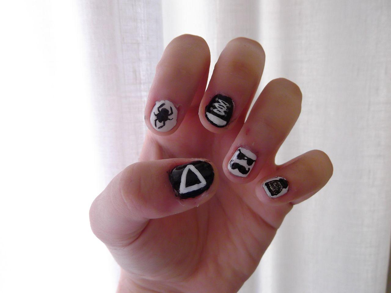 Bastille Nails? Amazing | Nails⏫⏪ | Pinterest | Bastille