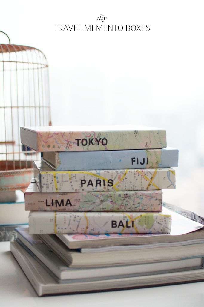 DIY TRAVEL MEMENTO BOXES (a pair & a spare) #vacationlooks