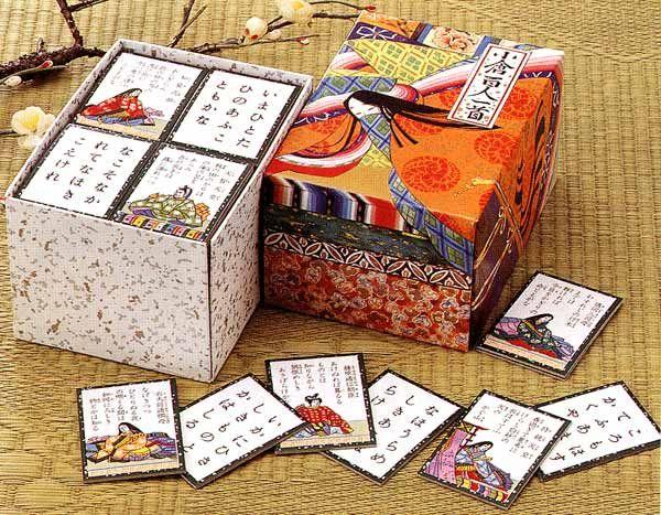 百人一首・懐かしい昔の民芸、伝統玩具販売・新製品
