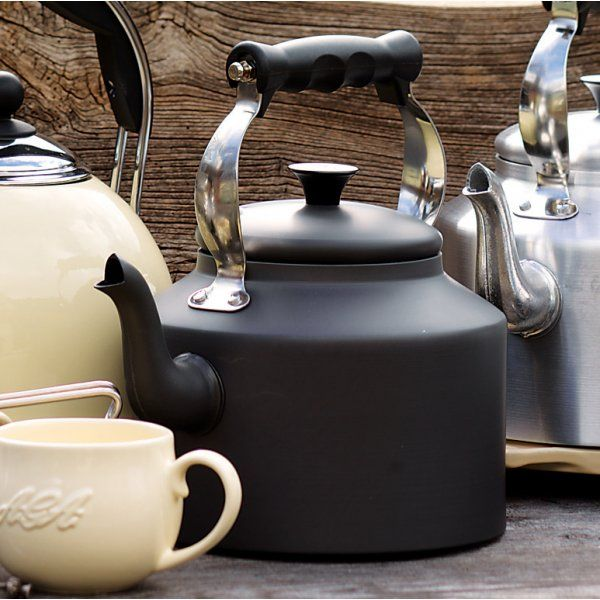 Aga Hard Anodised Classic Kettle 2l And 3l Vintage Kitchen Accessories Vintage Kitchen Kettle