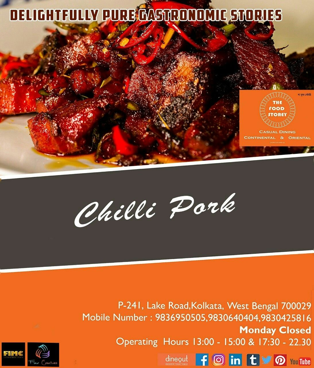 Delightfully Pure Gastronomic Stories Unfolding At The Food Storey Wanna Write Your S Let Us Entice You With Our Chil Food Food Experiences Gastronomic