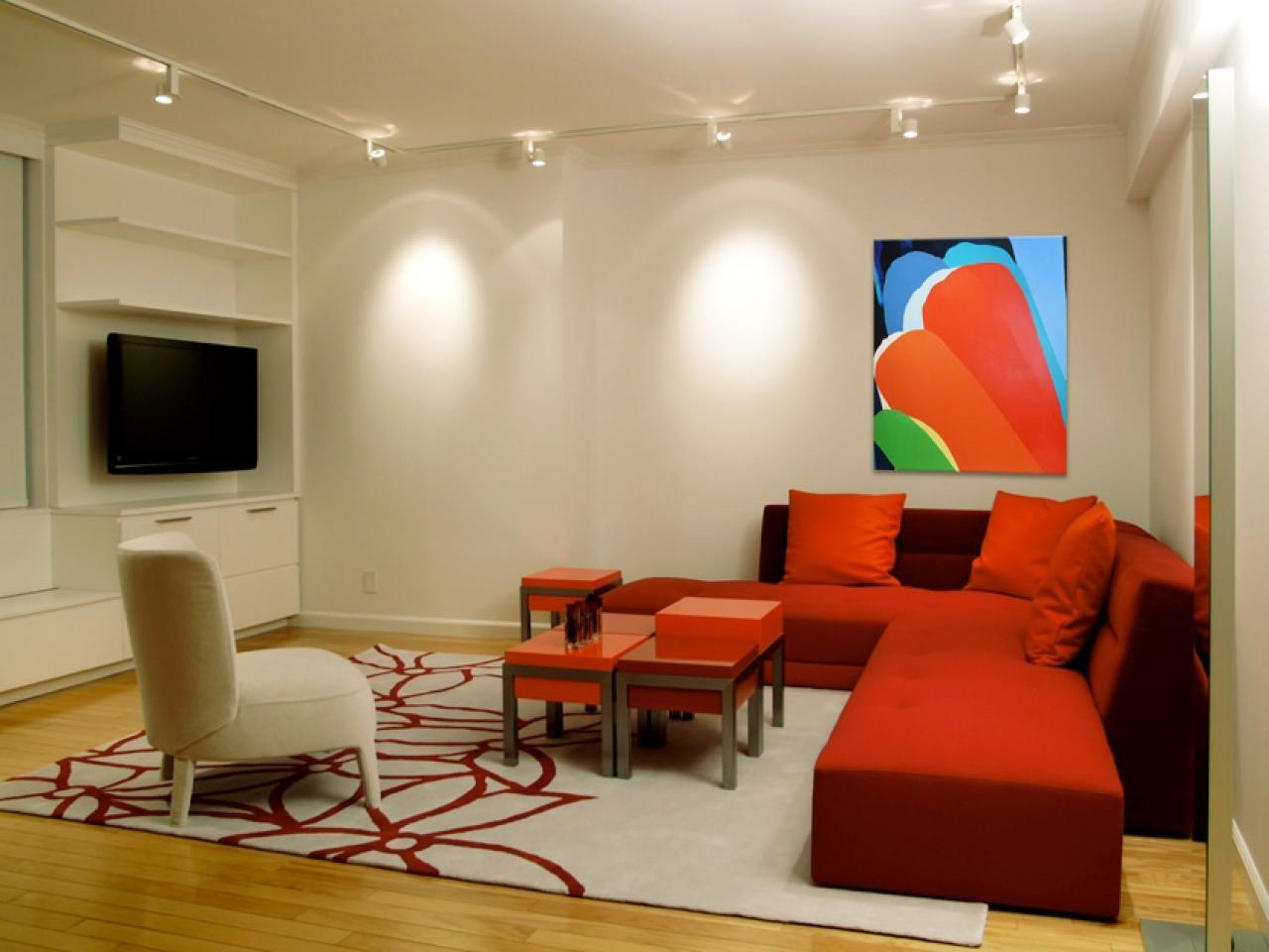 Wohnzimmer Leuchten Küchen Wir Haben Drei Farben, Die Eine Wichtige Rolle  Spielen In Diesem Wohnzimmer