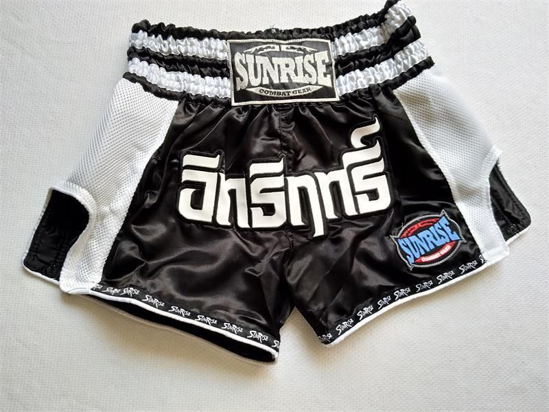 Muay Thai Boxing Shorts Kids Martial Arts MMA Thai Boy//Girl Pants Thai Pattern