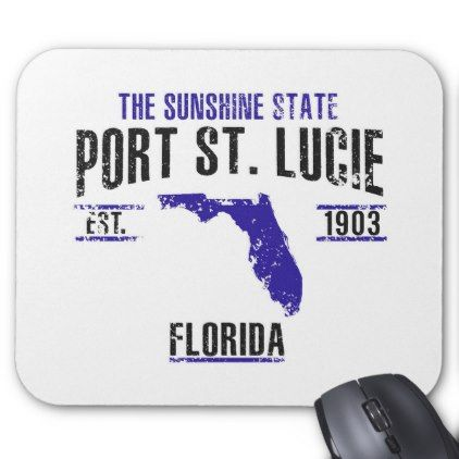 Port St Lucie Mouse Pad Office gifts - travel officer sample resume