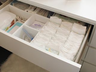 Luxe Report The Nursery Diaries Part Twelve The Reveal Nursery Drawer Organization Baby Drawer Organization Nursery Storage