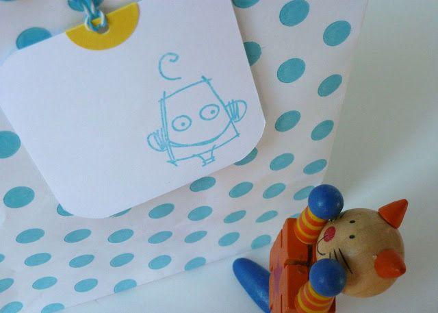 Tarjetas para el día del Niño: Papeles Pequeños