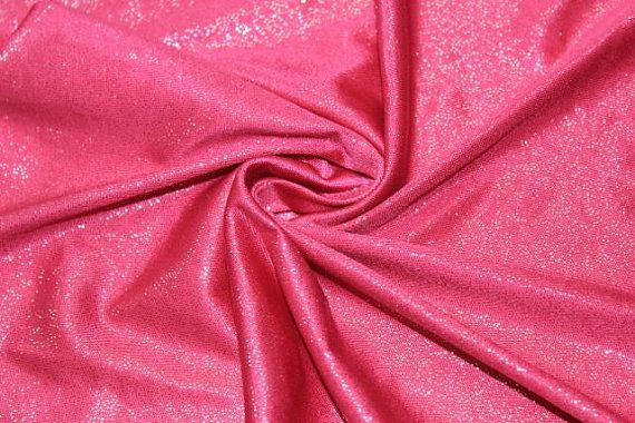 """58/"""" Wide Sold by the yard Stretch VELVET Hot Pink Fabric"""
