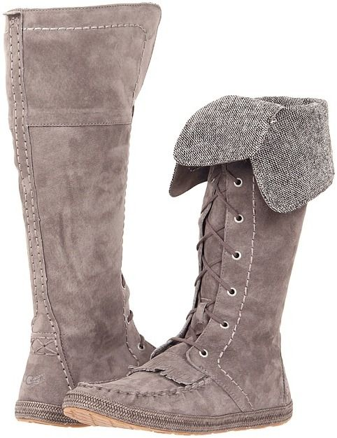 d94990fa07e UGG Somaya (Charcoal) - Footwear on shopstyle.com | yummy shells ...