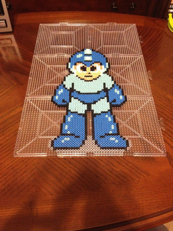 Megaman 2 Perler Bead Sprite by jnjfranklin on deviantART