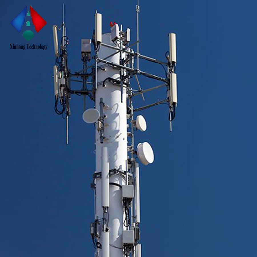 Factory Shipped Microwave Cell Monopole Tower | Guyed Mast | Tower