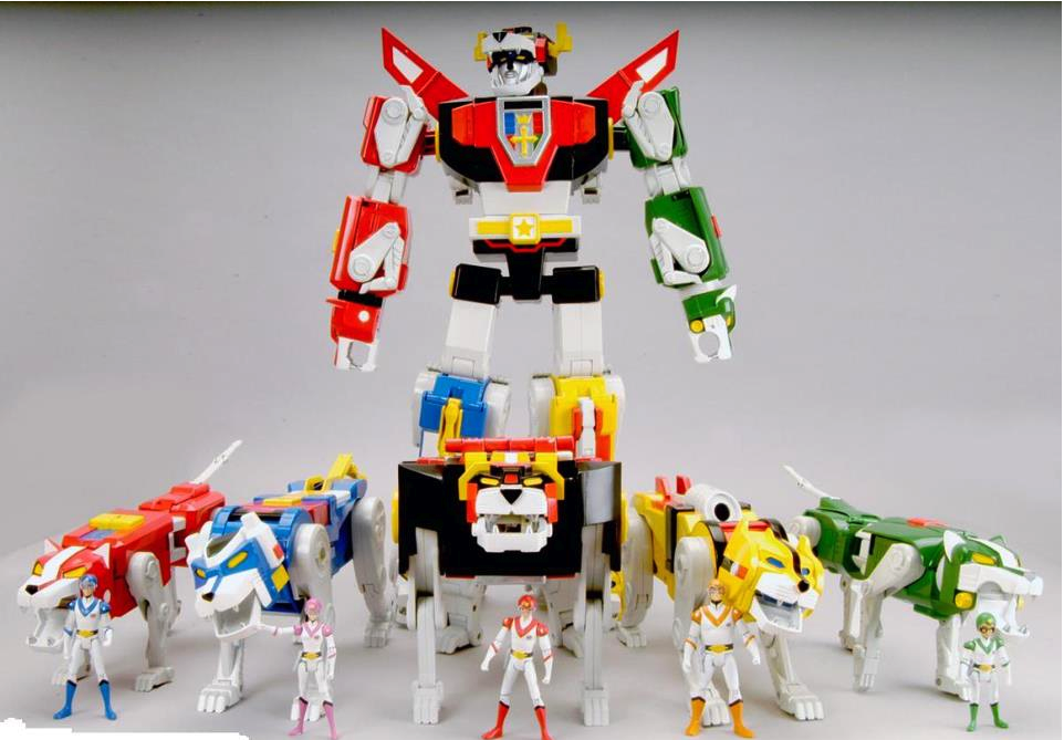 Voltron/Golion (Hyakujuo Golion - 百獣王ゴライオン) https://www.youtube.com/watch?v=kZE7SQpt6zE