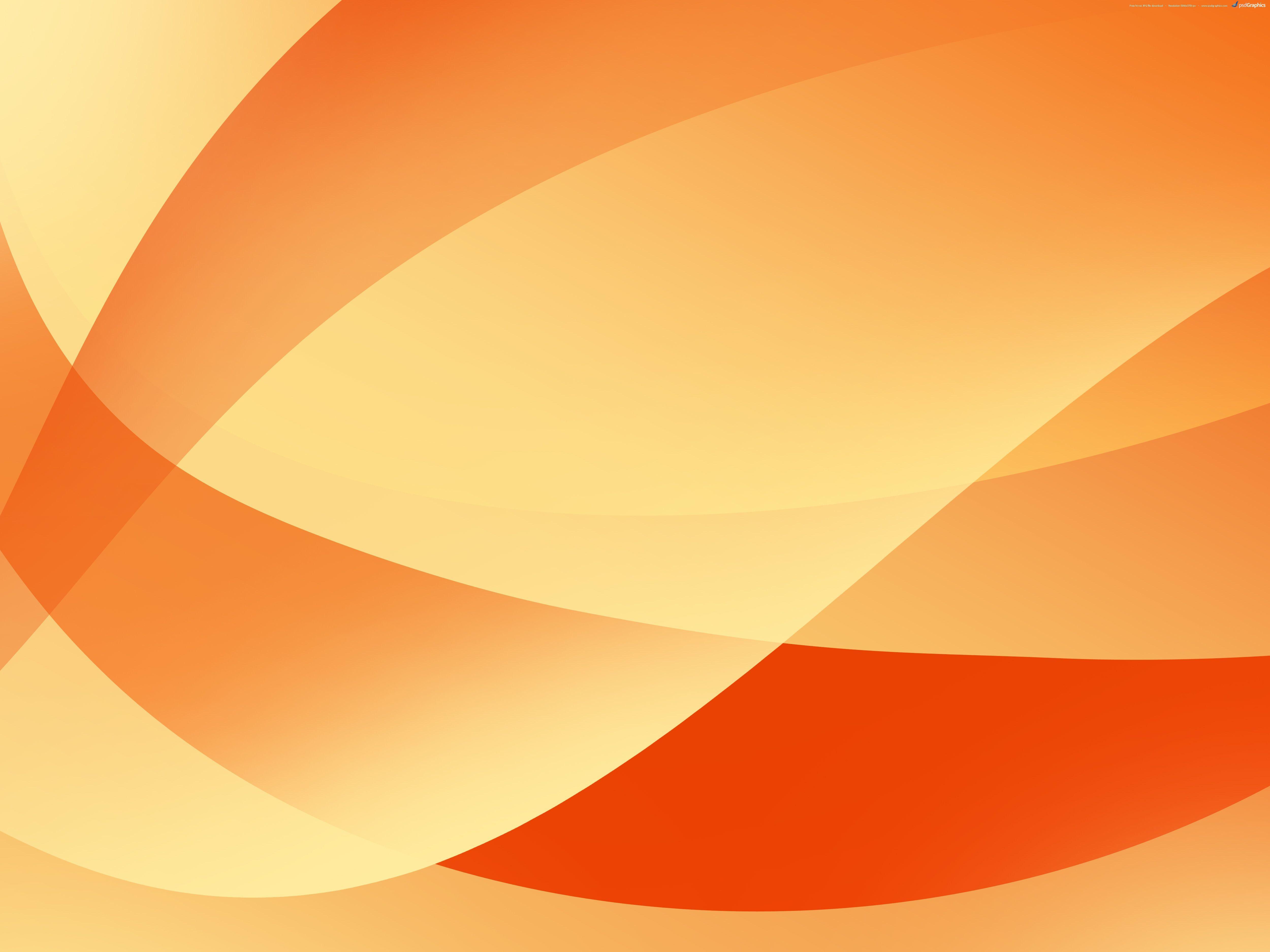 Abstract Orange Backgrounds Psdgraphics Orange Background