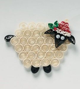 Quilled Sheep Ornament | Christmas Crafts | Holiday Crafts � Country Woman Magazine