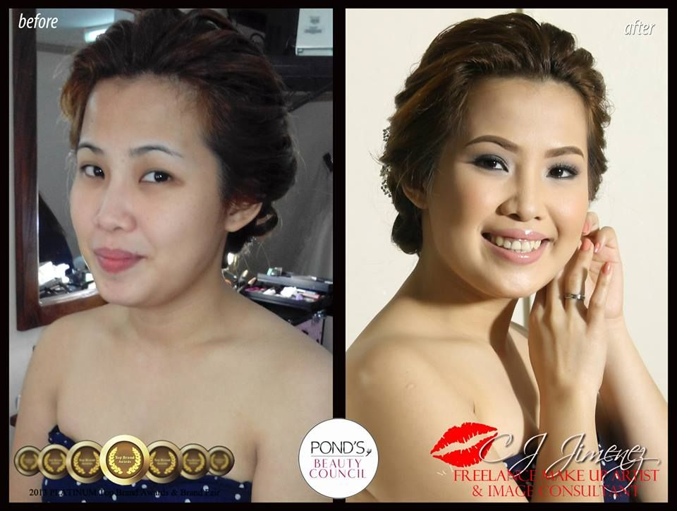Hair And Makeup By Cj Jimenez To See More Sample Of Her Works Please Visit Http Www Kasal Com Philippine Wedding Bridal Hair Makeup Bridal Make Up Beauty