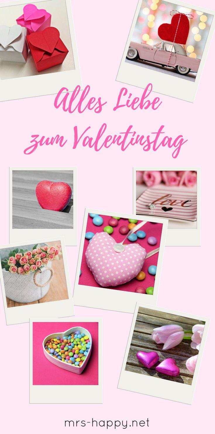 Alles Liebe zum Valentinstag. Inspirationen für dich, um Liebe zu ...