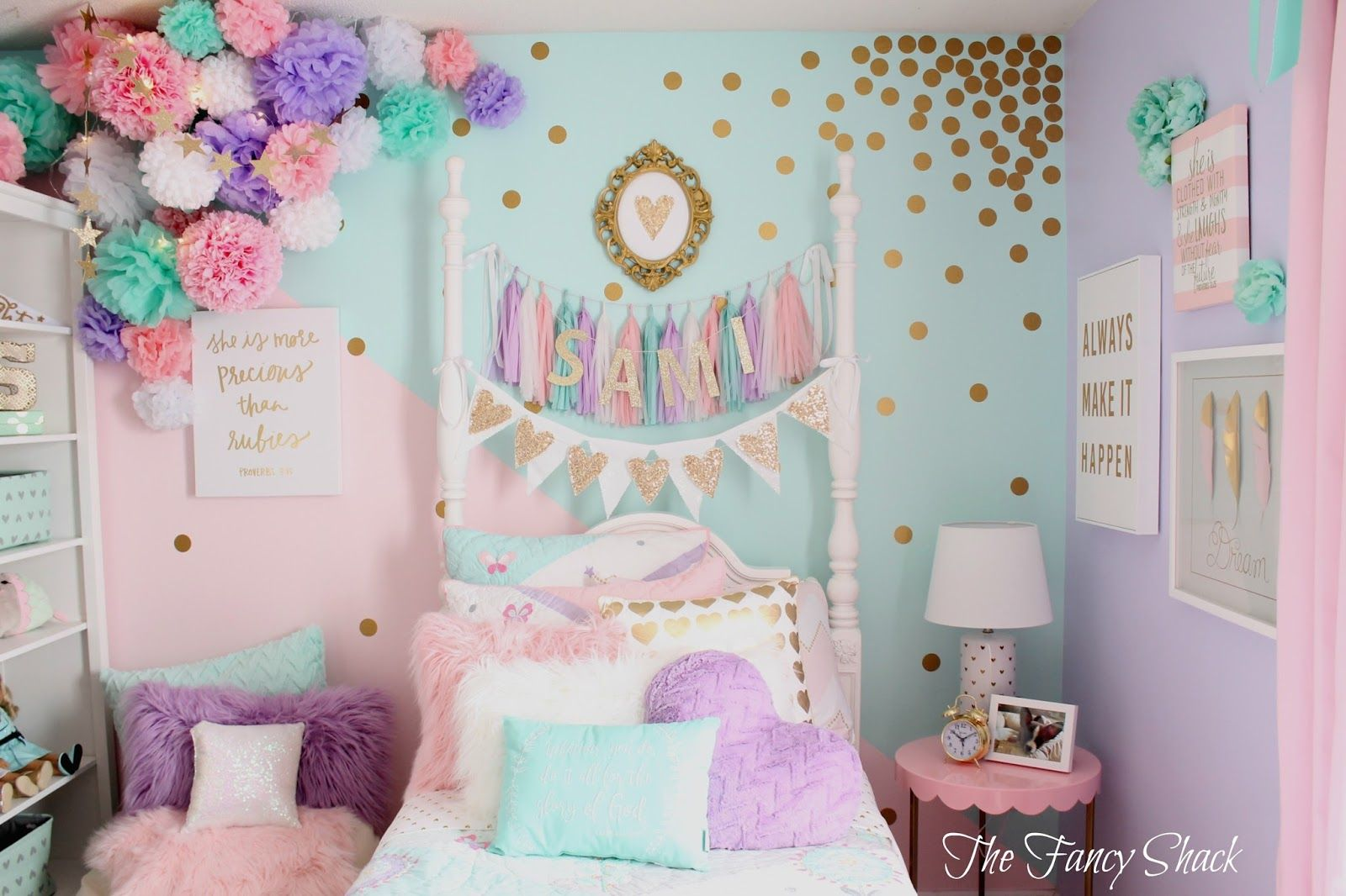 Img 1 600 1 066 pixels tween girls bedroom for Ideas para decorar una recamara
