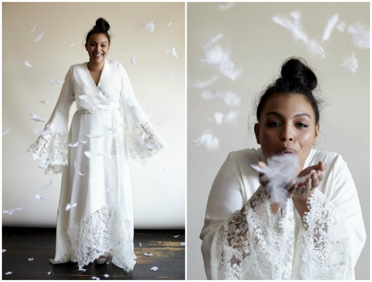 Unique plus size wedding gowns with sleeves can be made to order ...