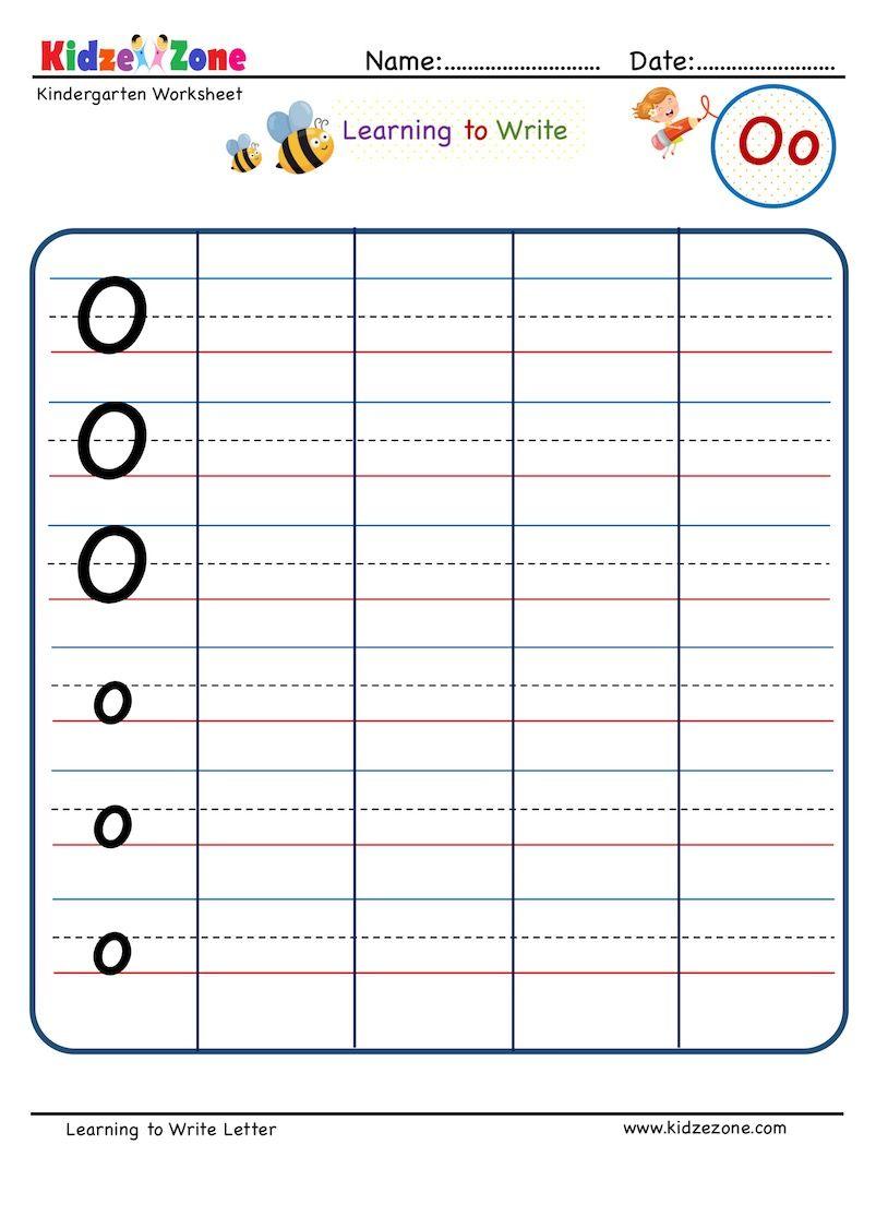 Kindergarten Letter O Writing Worksheet Writing Letter On Line Writing Worksheets Kindergarten Letters Letter Writing Kindergarten [ 1125 x 803 Pixel ]