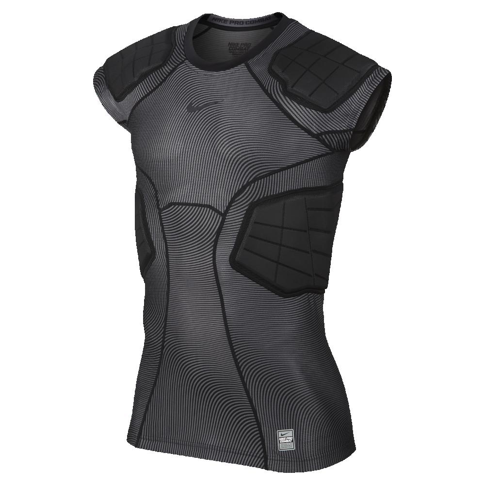 4c996a7de7cd Nike Pro Hyperstrong Men s Football Shirt Size Medium (Black) - Clearance  Sale
