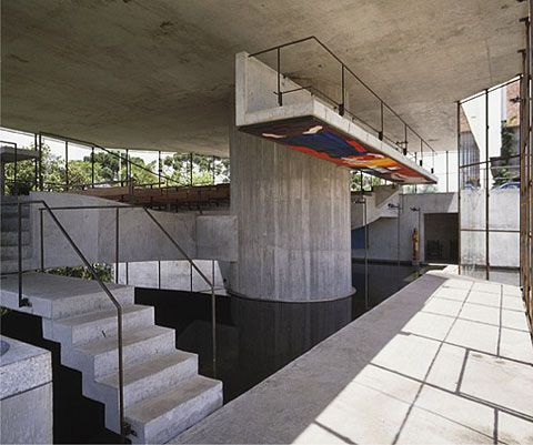 The chapel of San Pedro Apostle, 1987 - Campos do Jordão SP, Brazil -  Paulo Mendes da Rocha