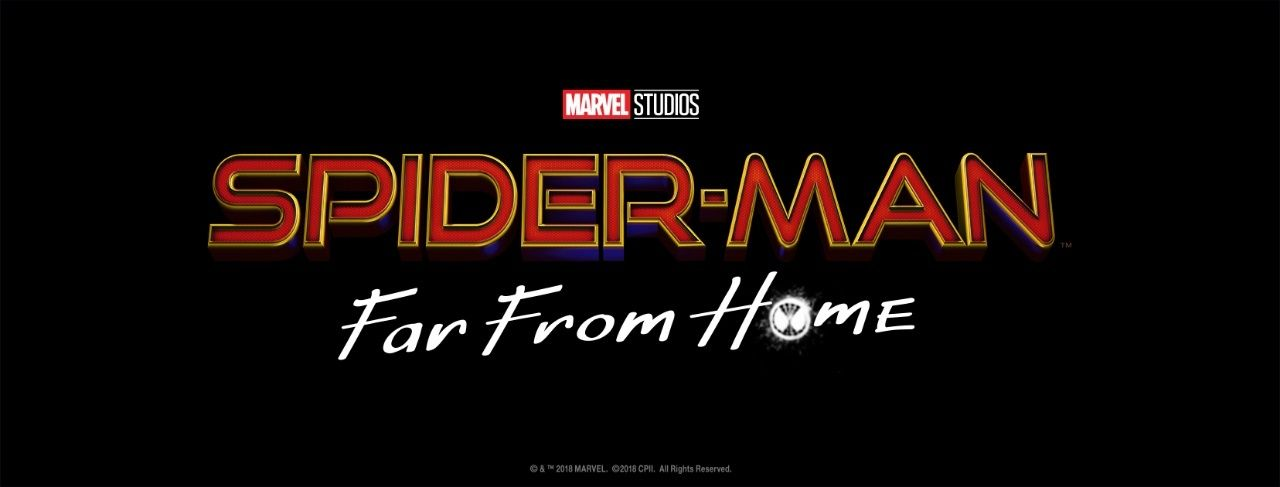 Official Spider Man Far From Home Logo Released Spiderman Spider Spider Man Homecoming 2