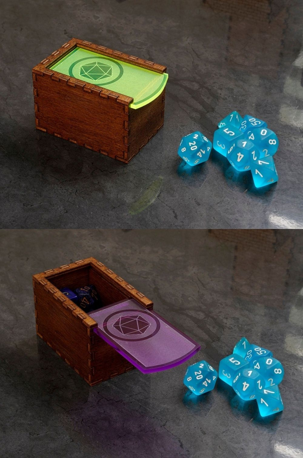 Etsy Shop Feature on So Super Awesome etsy dice dicebox