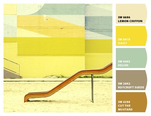 retro palette Paint colors from Chip It! by Sherwin-Williams