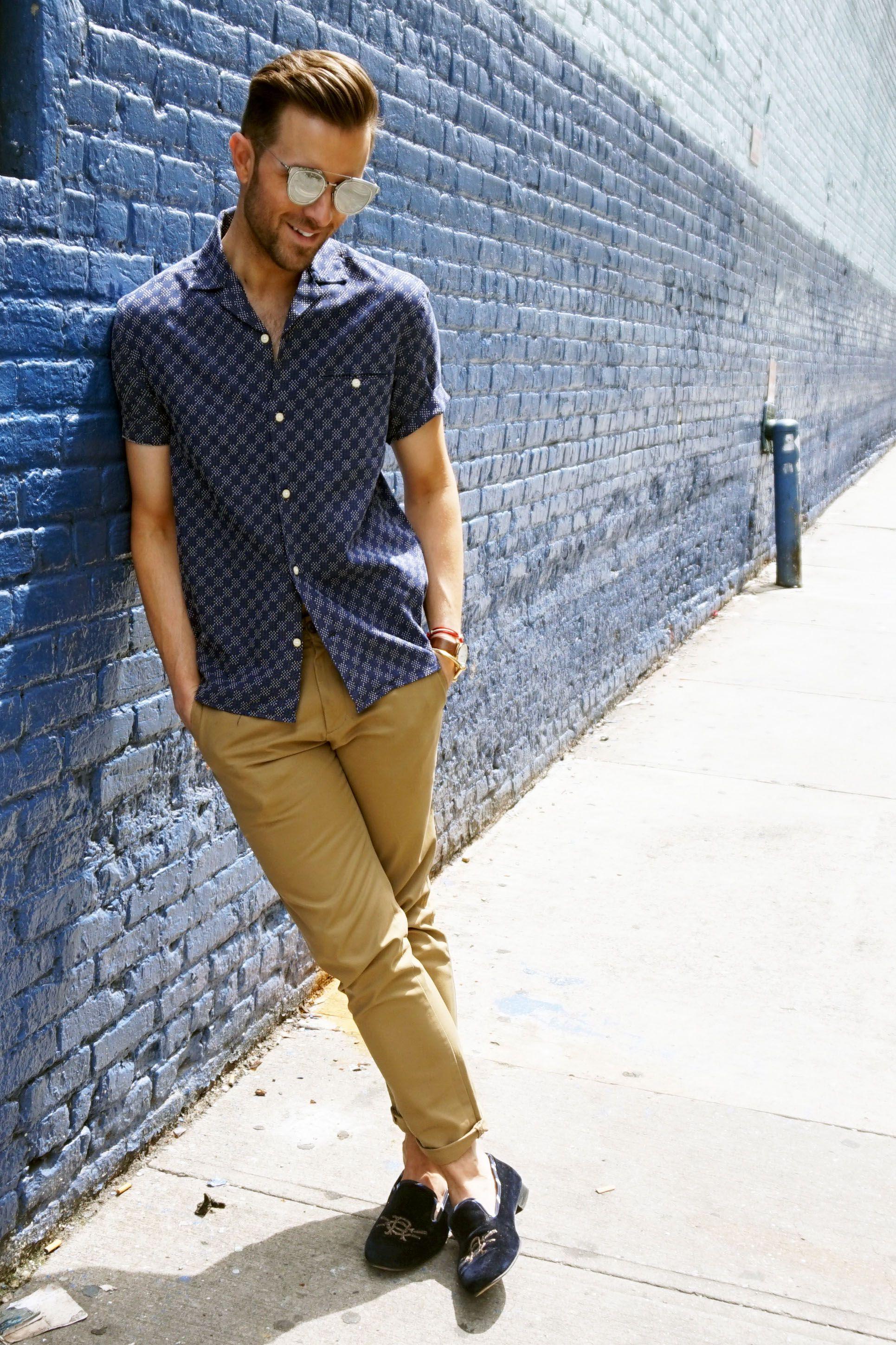 36056a6d Cuban collar shirt + sunglasses | Men's Style in 2019 | Fashion ...