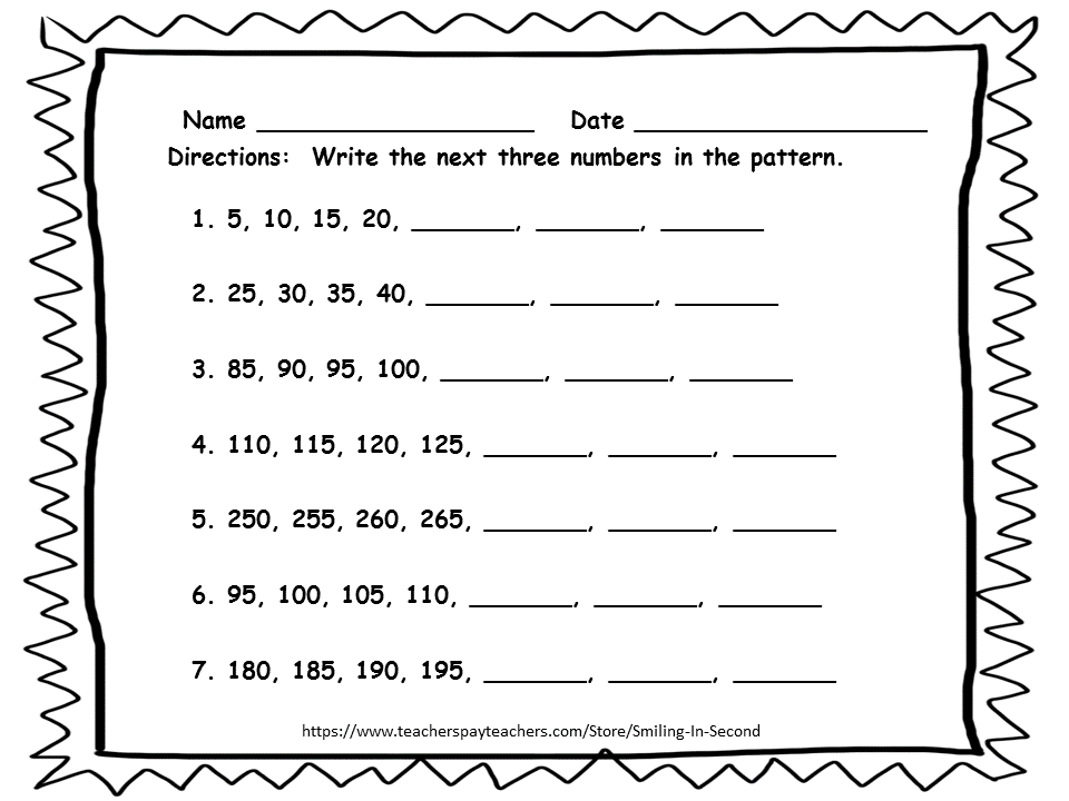 Skip Counting Math Worksheets Grade 2 Sheets Math Workbook 2nd Grade Worksheets Learning Worksheets