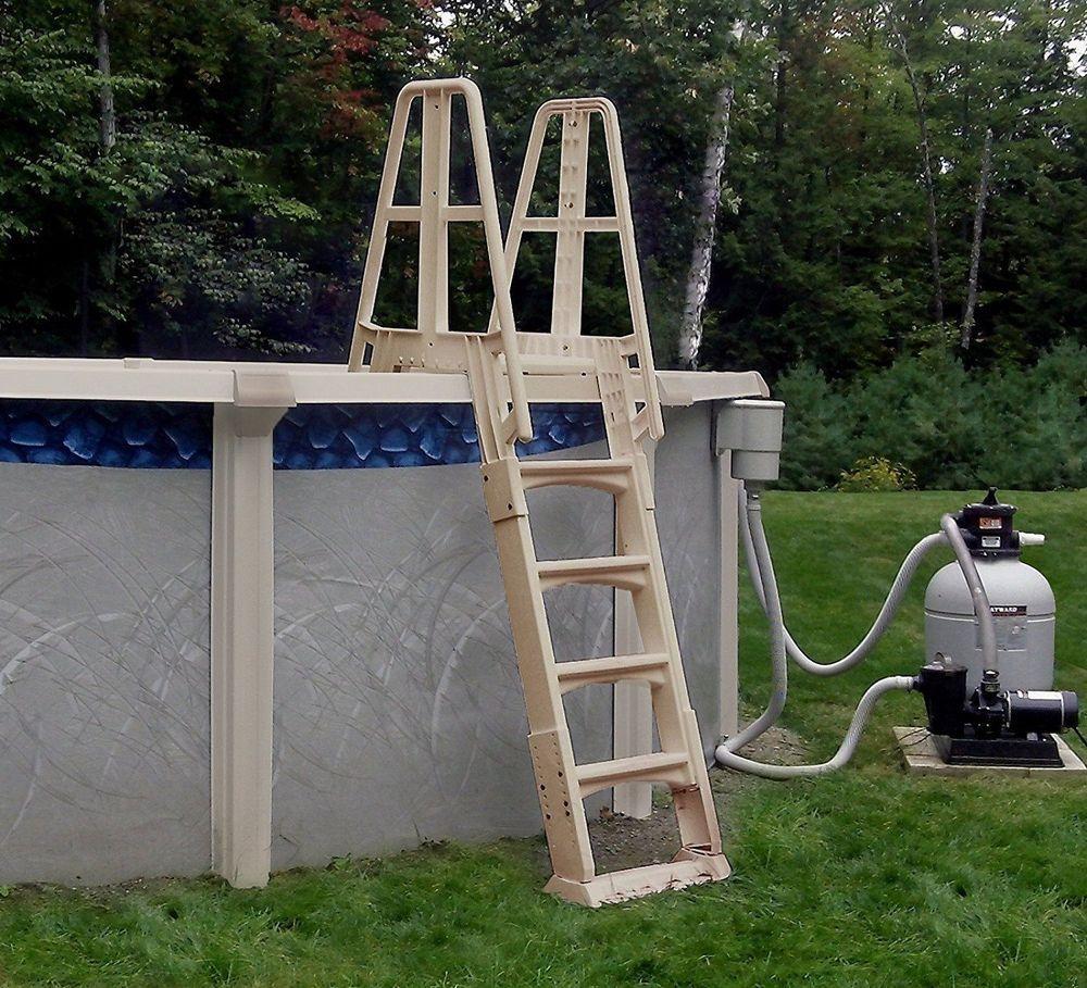 safety pool ladder barrier
