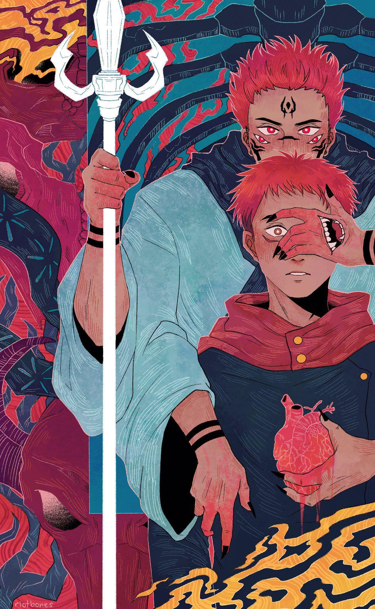 Bones Zine Grind On Twitter In 2021 Anime Cute Anime Character Jujutsu