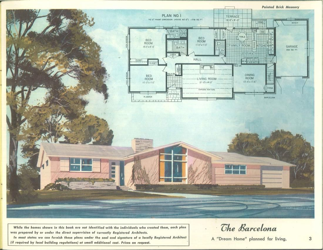 1958 Home of color custom designed