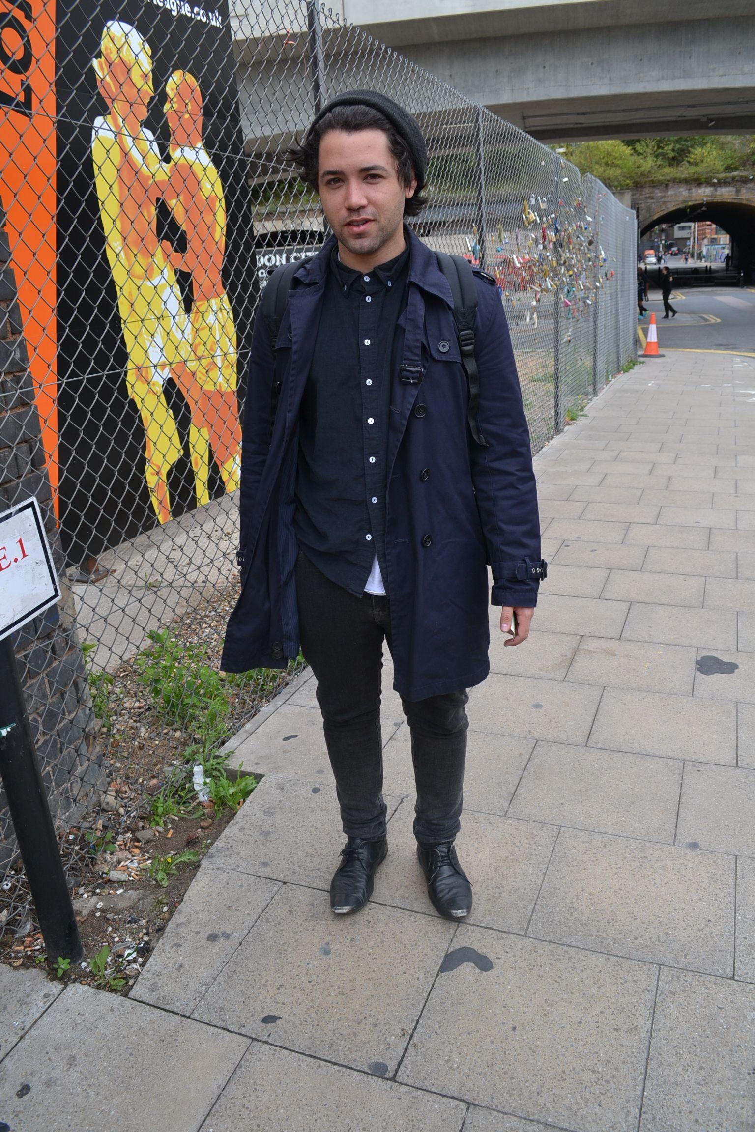 Shoreditch Station: Fashion Journalism, Rain Jacket, Fashion