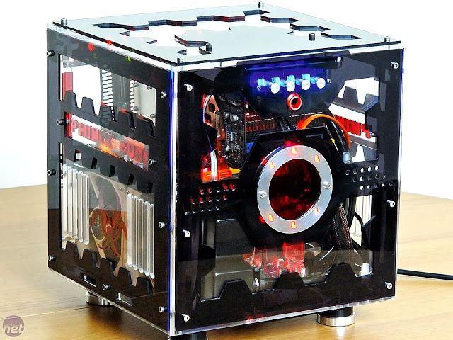 Hack N Mods Phinix Cube Custom Pc Case Computer Gehause Ideen