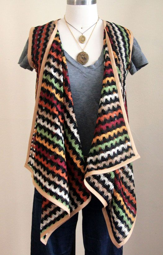 How To Make A Square Deal Vest Square Deal Free Pattern And Squares