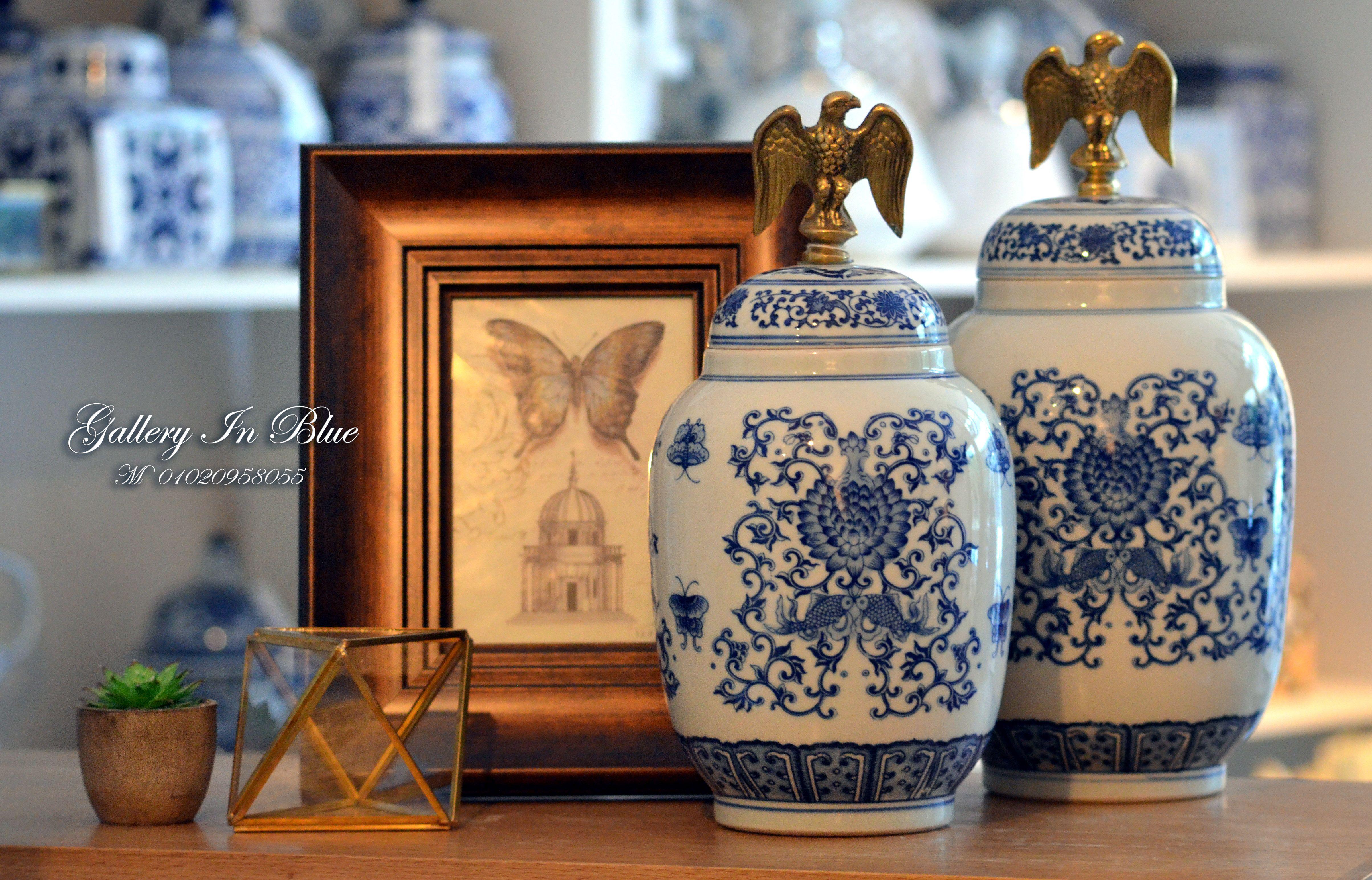#Galleryinblue #BleuBlanc #Vases #zamalekShops #InteriorDesigenegypt #homeaccessories #Homedecor