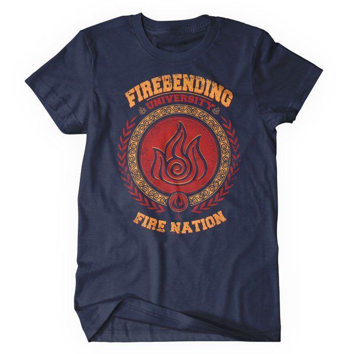 Firebending University - Women's T-Shirt