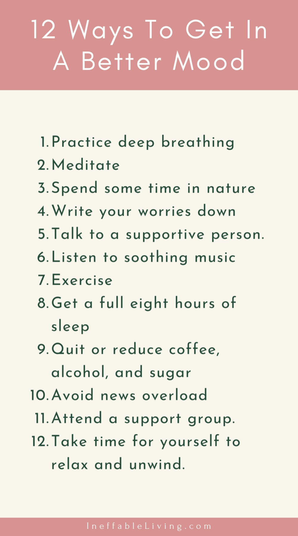 12 Ways To Get In A Better Mood (Mental Health Awareness Month)