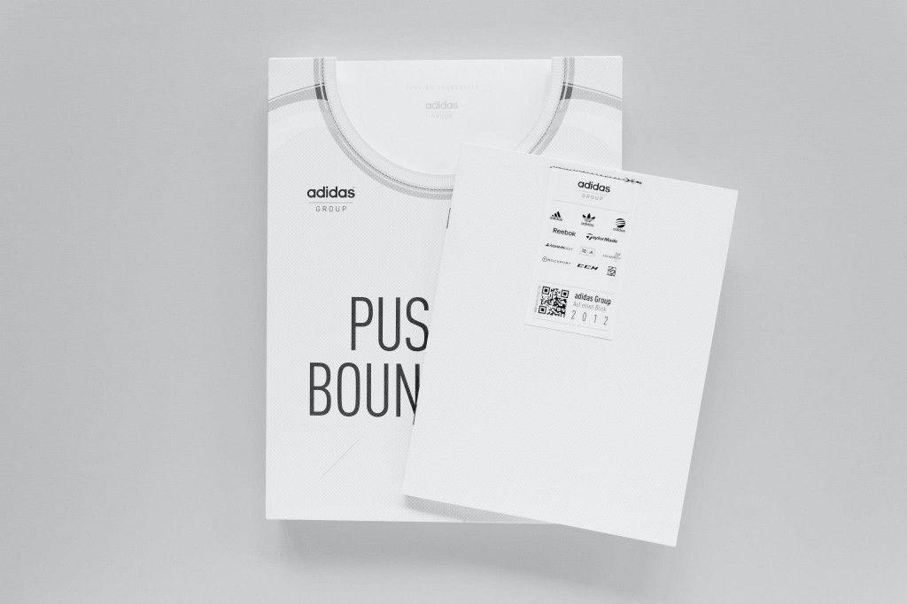 adidas rapporto annuale 2012 da strichpunkt design, stoccarda, germania