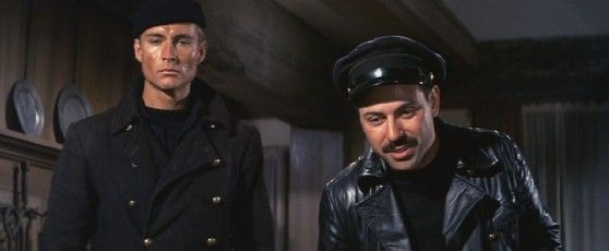 Alan Arkin And John Phillip Law In The Russians Are Coming The