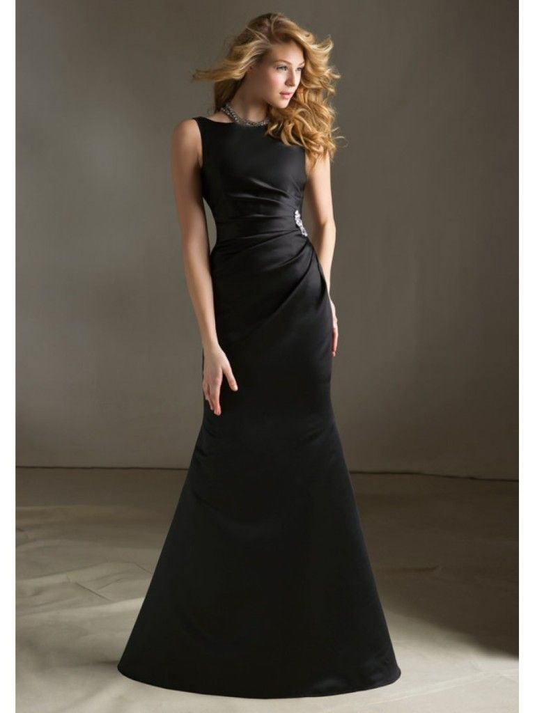 long-black-dresses-for-a-wedding-768x1024.jpg (768×1024)   Black ...