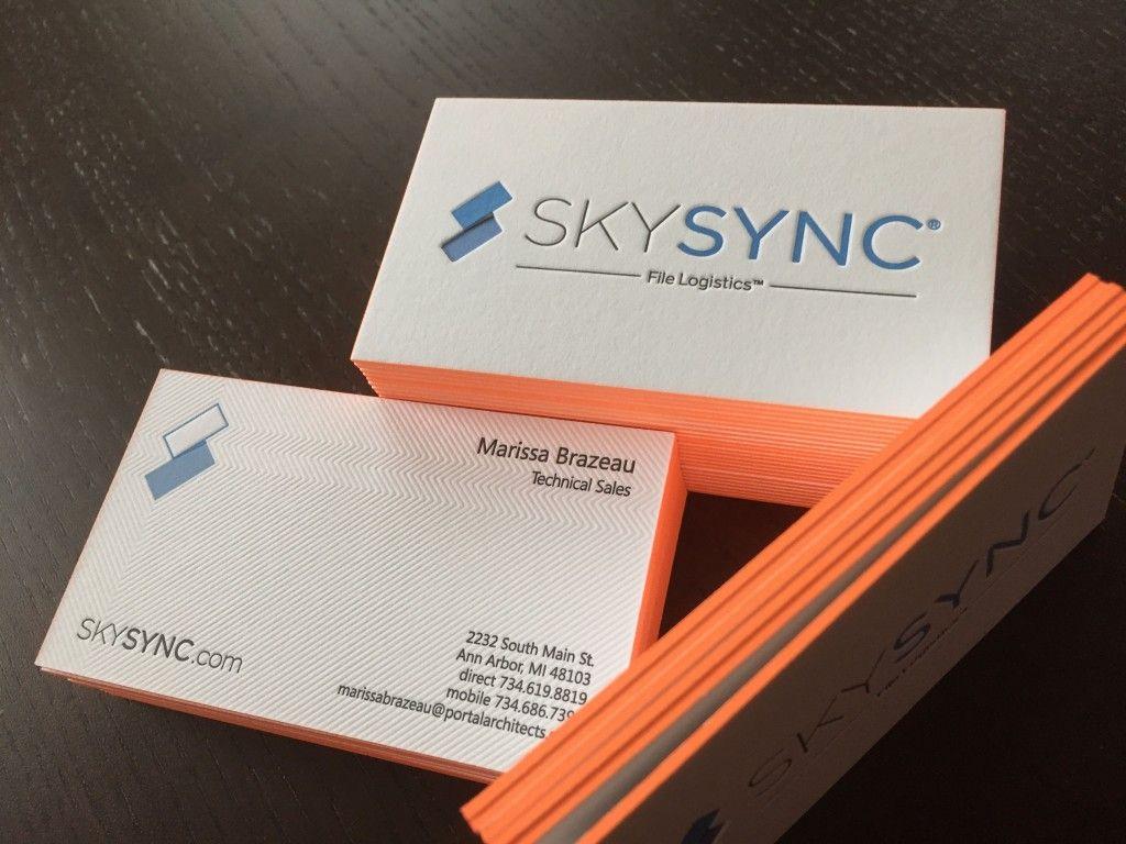 Skysync business cards businesscard designs pinterest business skysync business cards reheart Images