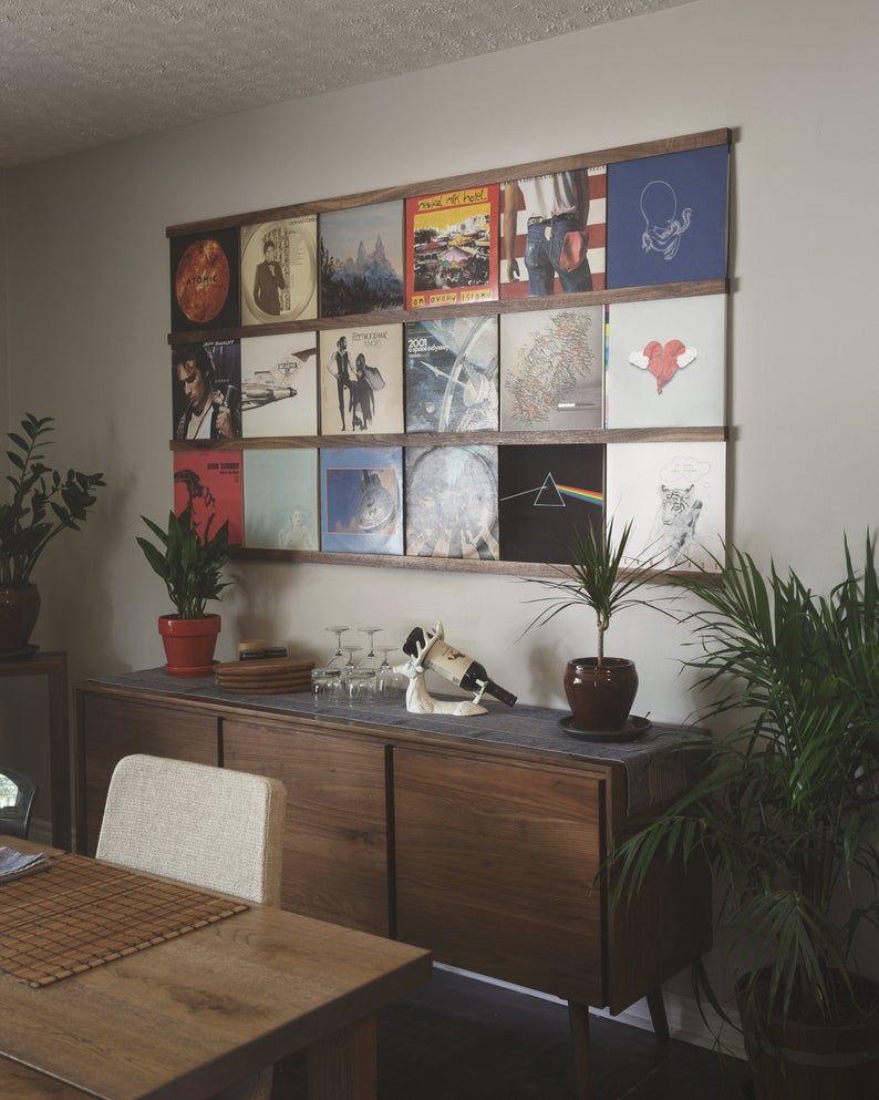 Etagere De Rangement Disque Vinyle Detenteur Du Record Au Mur Enregistrer Ledge Affichage Lp Enregistrer Le Mur D Affichage Enregistrer Cadre Album En 2020 Stockage