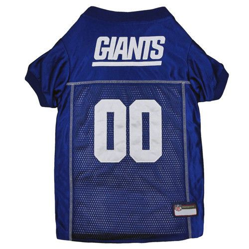 New York Giants NFL Pets First Licensed Dog Embroidered