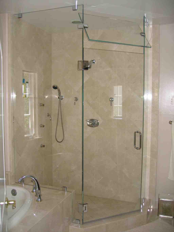 Frameless Gl Shower Doors Home Depot