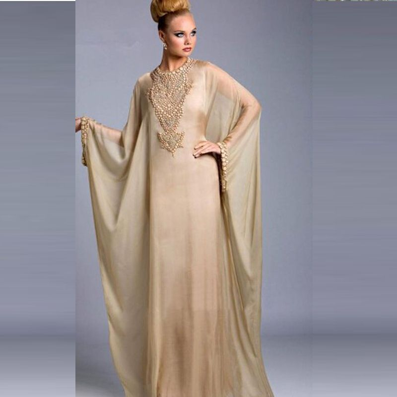 Kaftan Evening Dresses