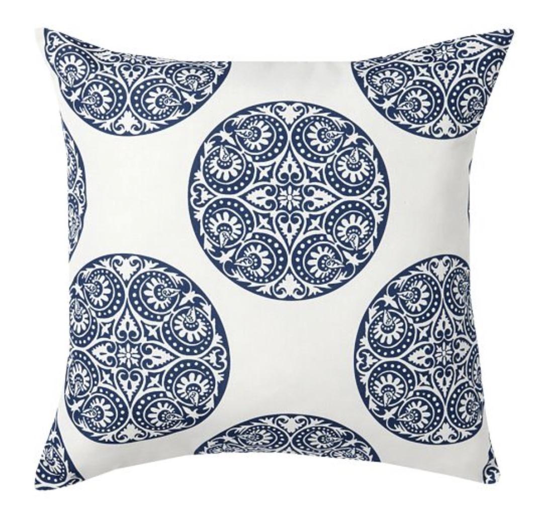 Pottery Barn Outdoor Outdoor Pillows Indoor Outdoor Pillows Blue Outdoor Pillows