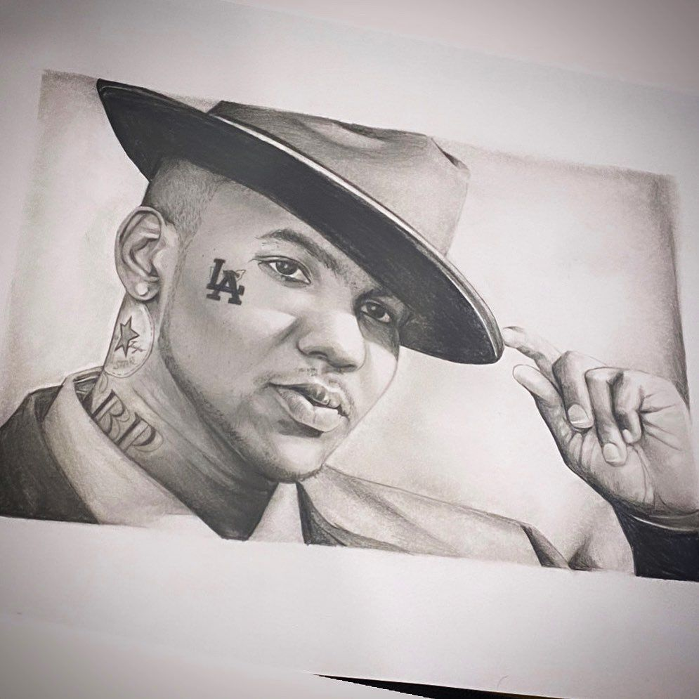 ...on repeat all day erry day  @losangelesconfidential 👊 . . . info@kristinmareetattoo.com.au 👥www.facebook.com/KristinMareeTattoo/ 💻www.kristinmareetattoo.com.au . . . . #tattoo #tattooideas #tattoos #tattooistartmag #tatt #tattooartistwanted #tattooartwork #blackandgreytattoo #blackandgrey #blackandgreyink #bng #bngtattoo #inkaholik #inkjunkeyz #inkspiration #goldcoasttattoo #goldcoasttattooartist #portraittattoo #inked #fanart #graphitedrawing #thegame #la